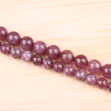 Mica 4/6/8/10/12mm Natural Gem Stone Polished Smooth Round Beads For Jewelry Making DIY Bracelets