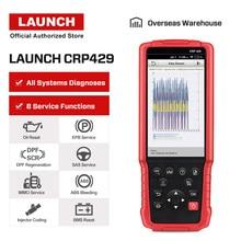Старт X431 CRP429 полный Системы OBD2 считыватель кода OBDII Авто Автомобильные инструменты для диагностики сканер автомобильный PK CRP429C Creader CRP123