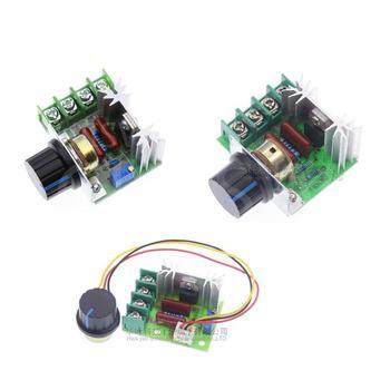 AC 220V 2000W SCR Regulator napięcia ściemniacze ściemniacze Regulator prędkości silnika termostat elektroniczny Regulator napięcia moduł tanie i dobre opinie ZUIDID CN (pochodzenie) JEDNOFAZOWE