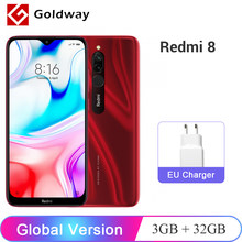 "Version mondiale Xiaomi Redmi 8 32GB 3GB SmartPhone Snapdragon 439 Octa Core 5000mAh batterie 12MP double caméra 6.22 ""écran CE(Hong Kong,China)"