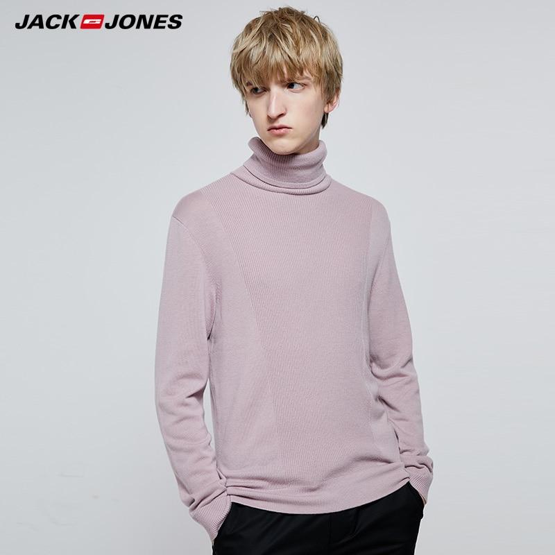 Jack Jones Autumn And Winter High-neck Woolen Knit Sweater  219324525