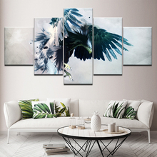 Wall Art Pictures Home Decor Framework HD Prints 5 Piece Modular Canvas Painting Living Room Eagle Abstract Poster Artwork набор вилок для фондю stahlberg 6 предметов 2 зубца