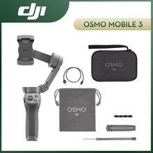 Dji osmo móvel 3 4 combo om4 om 4 3 eixos cardan smartphone estabilizador dobrável selfie vara rolo rápido reconhecimento facial