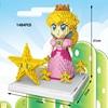 Classic plumber super mari bros princess Peach nanobricks Nintendoes game micro diamond building block star model figures toy