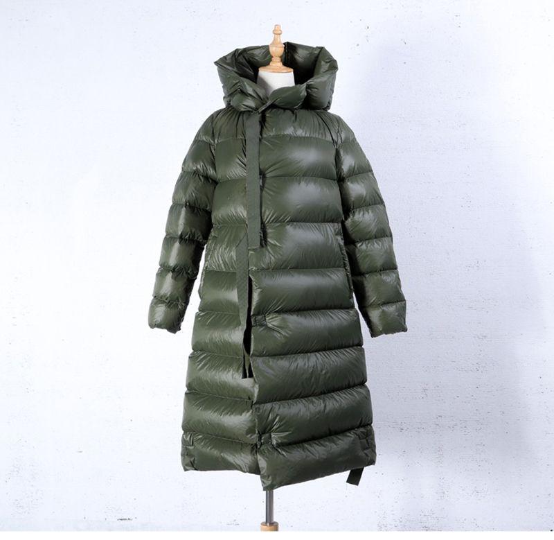 Black red black coffe Soft White Duck   Down   Jacket Women Fashion Long   Down     Coat   Parkas Thickening Female Waterproof Warm   coat