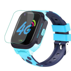 5 шт., прозрачная защитная пленка для экрана, защита для смарт-часов Y95, gps-трекер, локатор, для малышей, детей, SOS, вызов, умные часы