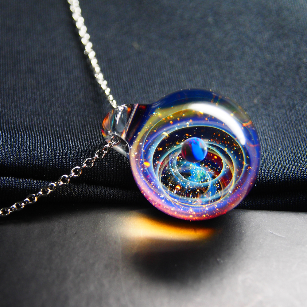 We Dream in Colour Little Galaxy Pendant Necklace GT12170