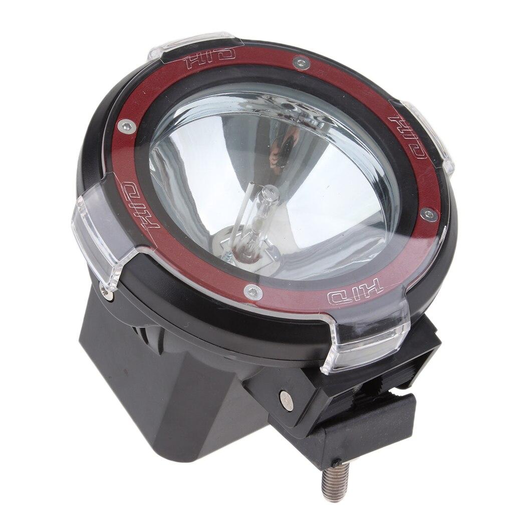 1 pièces 4 pouces 100W intégré xénon HID 4x4 cross-country rallye conduite brouillard lumière lampe 12V rouge