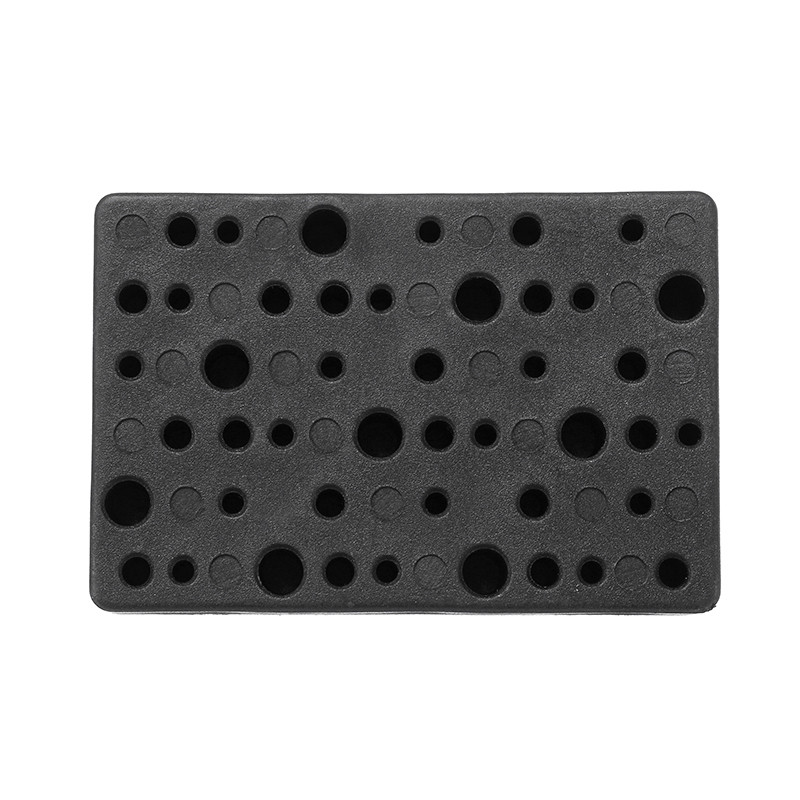 48 Holes Electric Drill Bit Storage Block Box Case For Dremel Rotary Tool Accessories