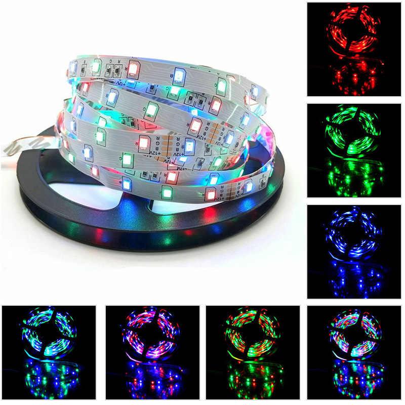 WAKYME RGB LED Licht Streifen Wasserdicht 10M Flexible LED Streifen 3528 SMD 600LEDs Ambilight TV Innen Beleuchtung mit fernbedienung