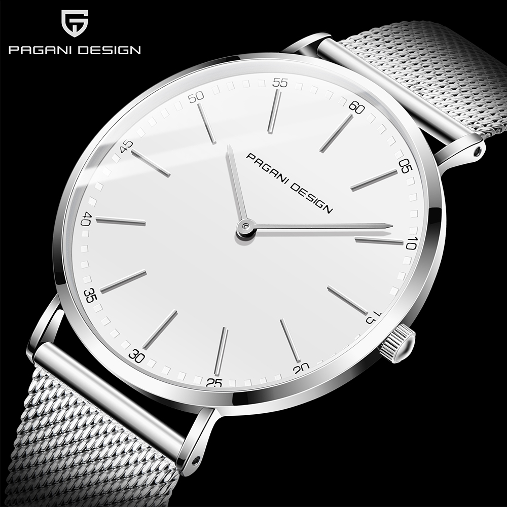 PAGANI DESIGN 2020 Fashion Casual Men Watch Luxury Waterproof Quartz Watch Relogio Masculino Brand Simple Watch Men Reloj Hombre