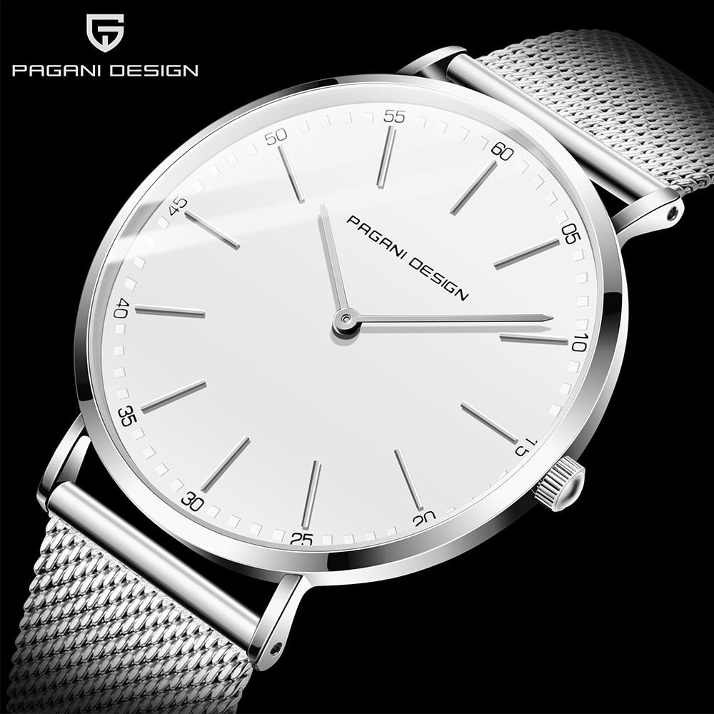PAGANI DESIGN 2020 Fashion Casual Men Watch Luxury Waterproof Quartz Watch Relogio Masculino Brand Simple Watch Men Reloj Hombre