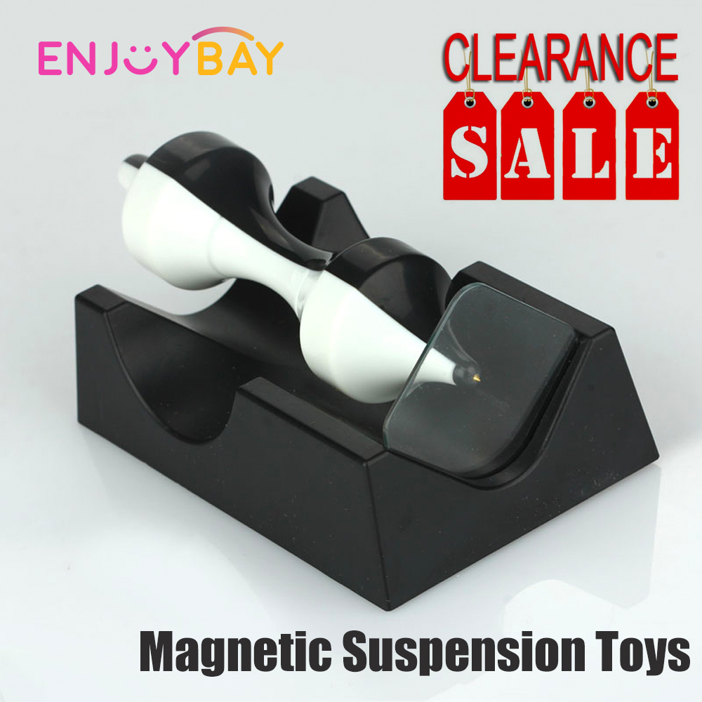 Clearance Sale Anti Gravity Revolution Magnetic Levitation Science Device Educate Toy Magnetic Suspension Toy