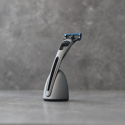 Безопасная бритва для мужчин прямая Бритва мужская бритва для бритья лица бритва станки для бритья Магнитная база сменная бритва головка