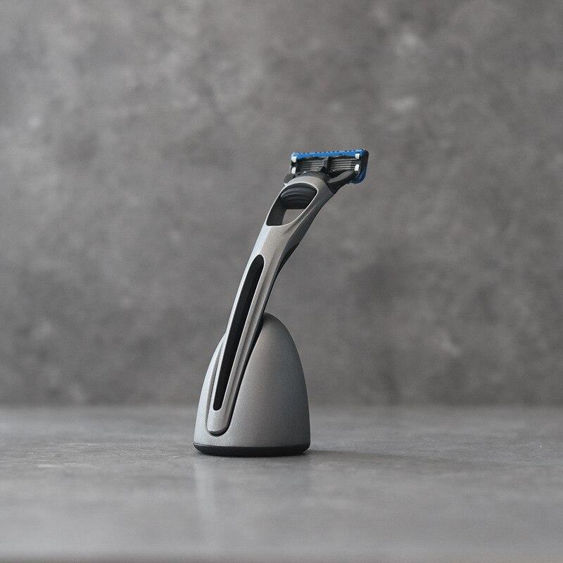 Safety Razor For Men Barber Straight Razor Men's Shaving Face Razor Blades Shaving Machine Magnetic Base Replaceable Shaver Head