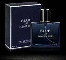 Parfum Men Perfumes With Pheramones Fragrance Perfume For Deodorant Toilet Water Blue Male 50ml