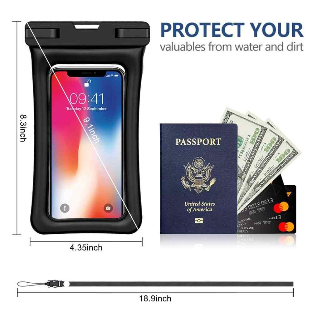 OBAFU funda impermeable Universal para iPhone X XS MAX 8 7 6 s 5 Plus funda bolsa fundas para funda de teléfono a prueba de agua Coque