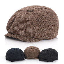 Winter Kids Hat For Girl And Boy Children Beret Caps Octagonal Clothes For Newborn Photography Props Child Hat Korean-style
