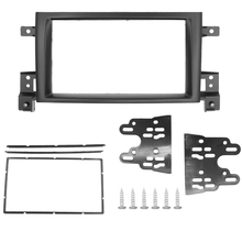 2 Din рамка для Suzuki Grand Vitara 2005 ~ 2017, двухсторонняя Din радио, модная DVD панель, комплект для установки, рамка, обшивка, рамка