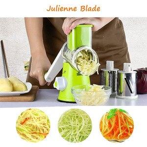 Image 3 - قطاعة الفواكه والخضراوات متعددة الوظائف ، قطاعة يدوية ، قطاعة يدوية للحوم والبطاطس والجبن ، قطاعة ، أدوات المطبخ