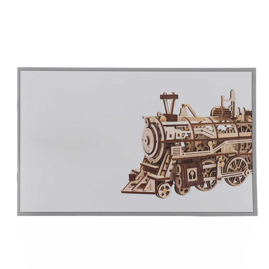 Train à vapeur 3D modèle en bois enfants auto-assemblage Puzzle jouets éducatifs en bois bricolage jouets d'apprentissage pour enfants adultes