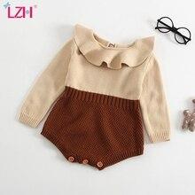 Overalls Kids Jumpsuit Newborn Long-Sleeve Winter Rompers Baby-Girls Infant Autumn LZH