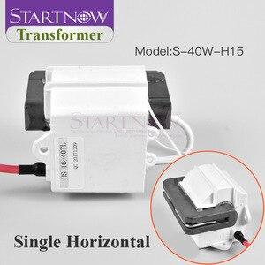 Image 4 - Yüksek gerilim Flyback trafo ateşleme bobini için 30W 40W 45W 50W CO2 lazer güç kaynağı gravür kesme makinesi parçaları