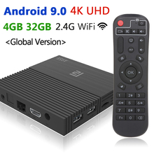 2019 New Smart TV Box Android 9.0 A95X F2 4GB 32GB 64GB Video Media Player Set Top Box 4K HD 2.4G Wifi 100M LAN Remote Control