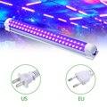 Светодиодный ультрафиолетовый светильник, 60 Вт, ультрафиолетовый свет, T8, вечерние диджейские трубки, сценическое освещение для бара, шоу, к...