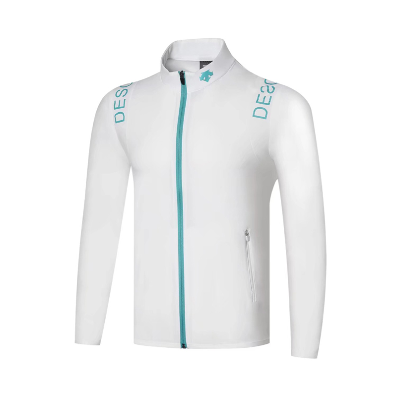 Swirling Golf Apparel Men's  Long-sleeved Golf T-shirt Thin Windbreaker Golf Jackes Four-color Optional S-XXXL Free Shipping