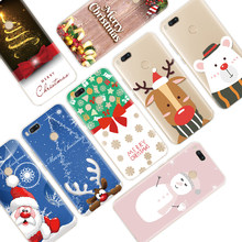 Merry Christmas Deer Soft TPU Print Case For Xiaomi Redmi K20 S2 7A Note 4 Global 3 5 6 7 Pro Plus 6A 5A 4X GO Cover Case Capas(China)