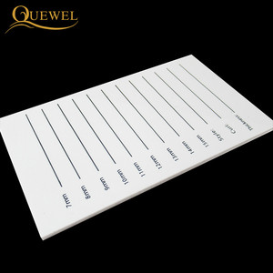 Image 4 - Eyelash Acrylic Lash Pallet Individual Eyelash Tile Palette Adhesive Glue Ceramic 5 Pieces Holder New Eyelash Extensions Tools