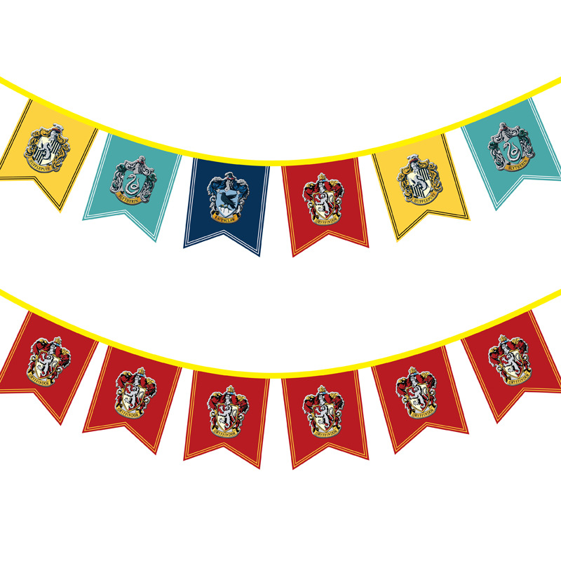 Harry Potter String Flag Anime Hanging Flags Game Of Thrones Of Game Family Banner Welcome Banner Decoration Flag Dvd Vcd Player Aliexpress