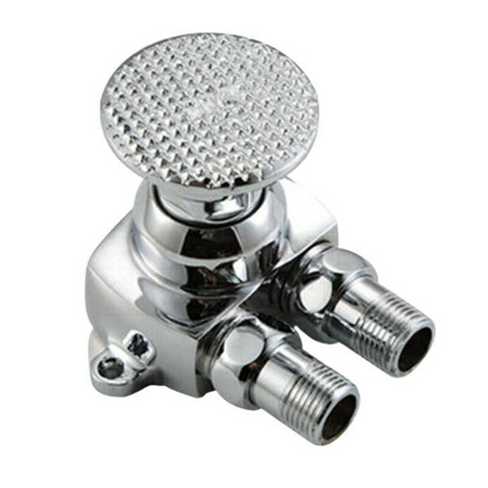 Foot Pedal Control Valve Faucet Vertical Basin-Switch Kitchen Sink Water Tap