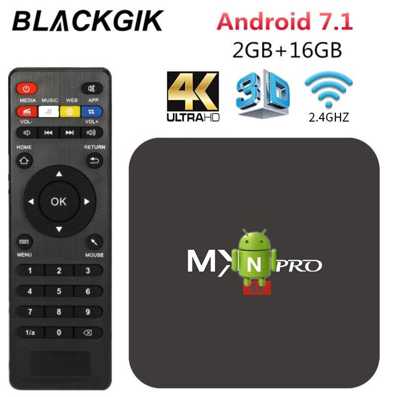 MX Pro Android Smart TV Box RK3229 2G 16G Set top box unterstützung 4K HD H.265 2,4 GHz WiFi Media player liefern von Sao Paulo Brasilien