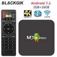 MX Pro Android Smart TV Box RK3229 2G 16G Set top box support 4K HD H.265 2.4GHz WiFi Media player deliver from Sao Paulo Brazil