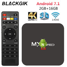 MX Pro Android Smart TV Box RK3229 2G 16G Set top b