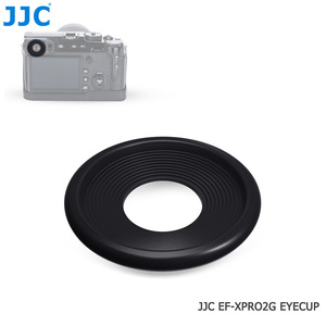 Image 4 - JJC 2PCS Eyecupช่องมองภาพEyeshadeสำหรับFuji Fujifilm X Pro2 XPro2 Eyeถ้วยซิลิโคนยางซิลิโคนกล้องEyecup Protector
