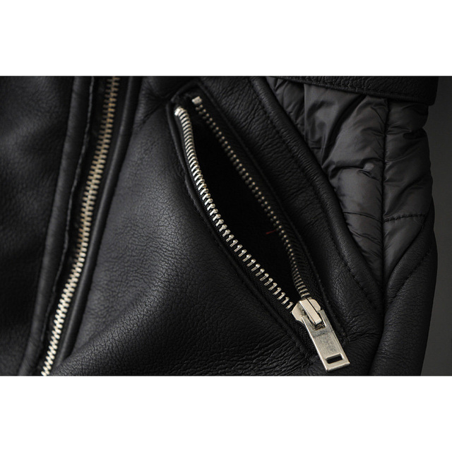 winter women pu leather jackets fashion ladies sashes zippers turn down collar long  female patchwork  warm chic coats