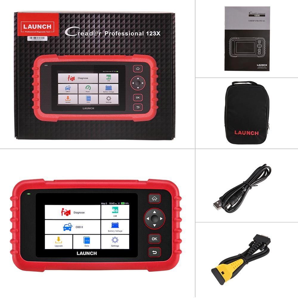 Image 5 - Launch X431 CRP123X Diagnostic Tool Auto Code Reader EOBD OBD2 Scanner Engine Transmission ABS SRS AutoVIN WIFI PK CRP123 VII+-in Engine Analyzer from Automobiles & Motorcycles