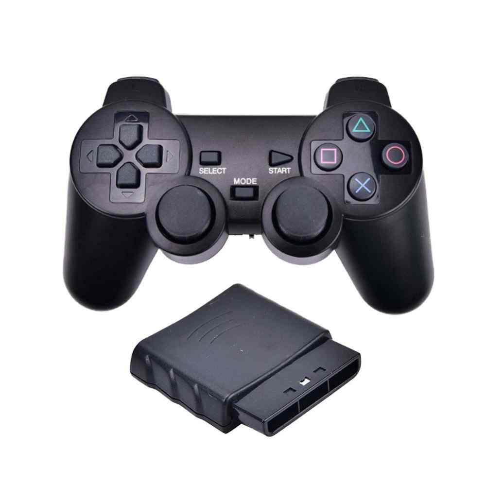 Snelle Verzending Wireless/Wired Vibrator 2.4G Usb Game Controller Joypad Gamepad Joystick Voor Sony PS2 PS3 Pc