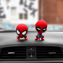 Spiderman Car Ornament Cartoon Auto Ornament Magnet Auto Interior Dashboard Deco