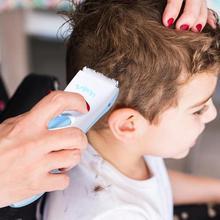 Триммер для волос, машинка для стрижки волос для детей, взрослых и детей, бритва для ухода за волосами для родителей и детей, практичная Тихая Стрижка волос 145x45x30 мм