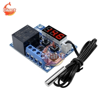 WX-101W Digital Display Thermostat DC 12V Temperature Controller Switch Board Module 1 Channel Relay Output for Car Incubator image