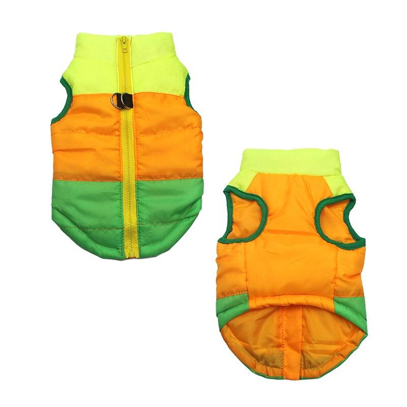 Теплая одежда для домашних животных, одежда для маленьких собак, пальто, куртка, зимняя одежда для щенков, костюм для собак, жилет, одежда для чихуахуа-4