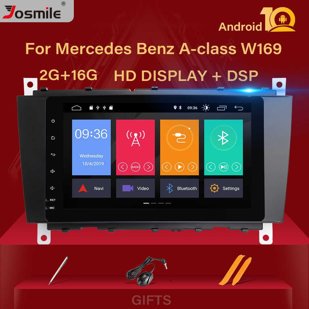 2Din Android 10 Auto Gps Radio Voor Mercedes/Benz W203 W209 W219 Sprinta-C-Klasse Cls C180 c200 CLK200 Vito Viano Multimedia Stereo