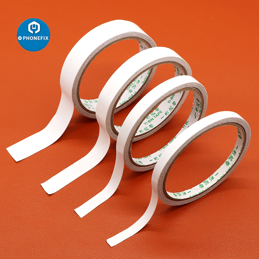 Strong Double Sided Tape Ultra-thin High-adhesive Length 8M Width 5/8/10/15/20 MM For Car School Office Home Repair Paper Tape