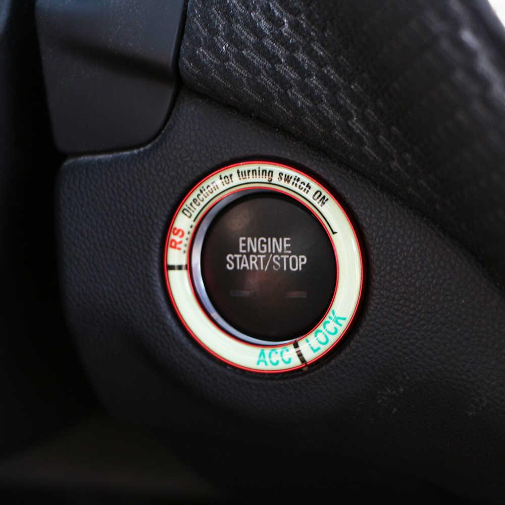 زلورد محرك السيارة بدء وقف مفتاح إشعال حلقة لمرسيدس بنز W203 W210 W211 W204 C E S CLS CLK CLA SLK A200 A180 A260 أجزاء