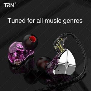 Image 5 - טורנירים ST1 1BA + 1DD היברידי באוזן אוזניות DJ צג ריצה ספורט אוזניות HIFI מתכת אוזניות Earbud KZZSN פרו CCACA4 NiceHCK DB3