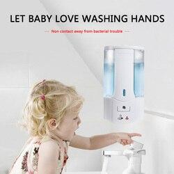 Infrarood Sensor Hand Wassen Container 450 Ml Automatische Vloeibare Zeep Dispenser Shampoo Lotion Douchegel Schuim Flessen